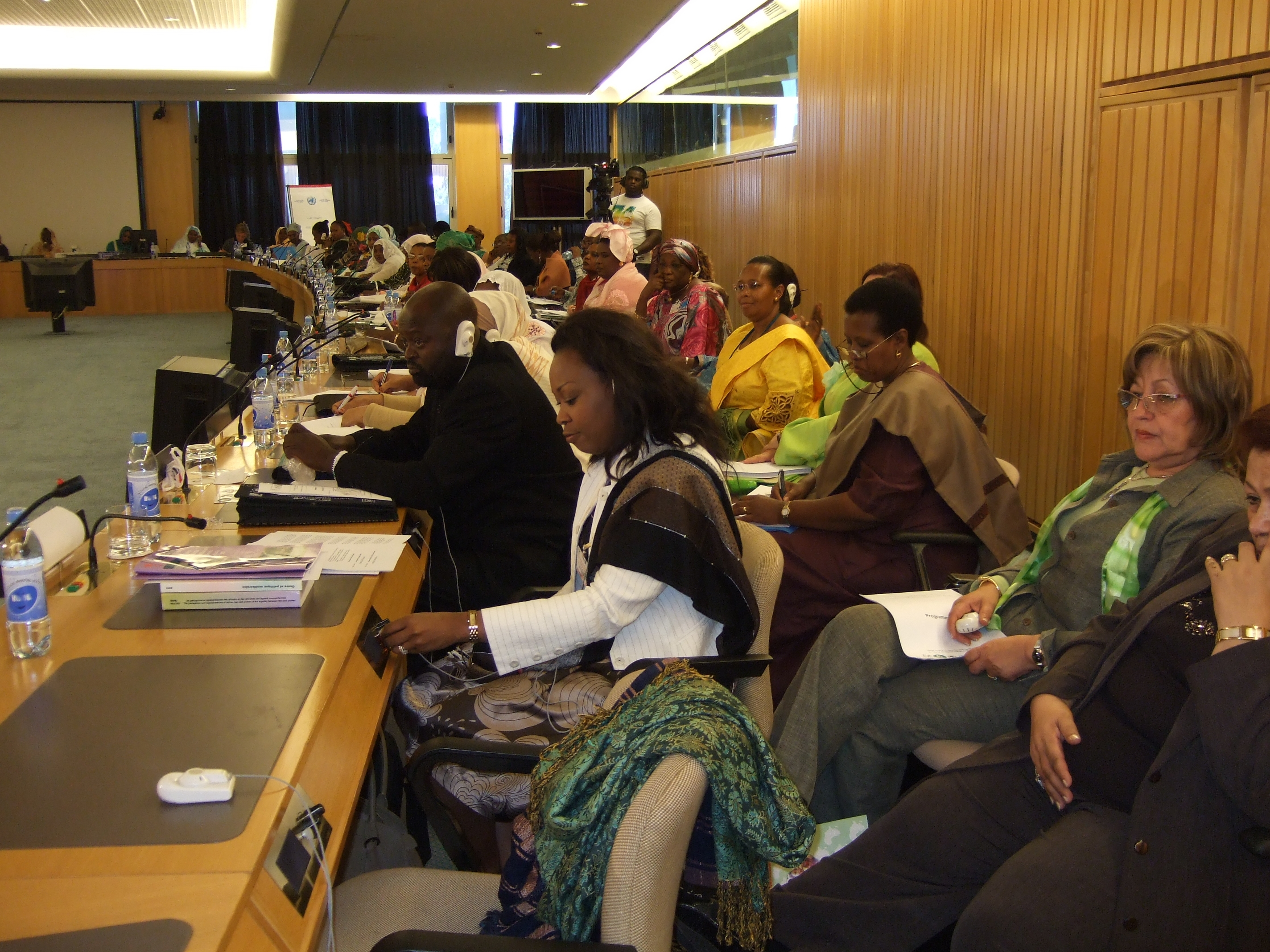 11th AU Pre Summit Delegates in Session